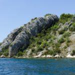Eindruck Felsen am Wasser 3