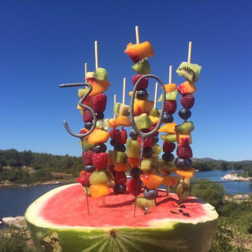 Eindruck Früchte Balkon Wasser