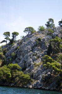 Eindruck Felsen am Wasser 1