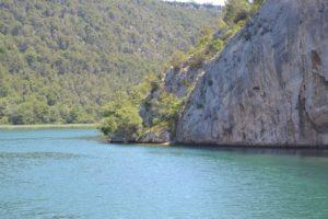Eindruck Felsen am Wasser 5