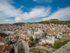 Eindruck Panorama Sibenik 2